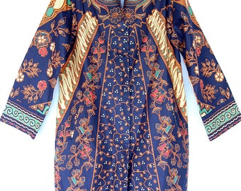 ORIGINAL INDONESIAN BATIK special design overcoat