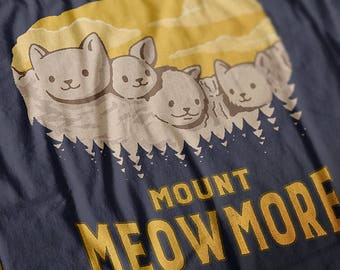 Mount Meowmore Women's short sleeve t-shirt