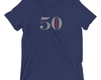 50 mile marathon Short sleeve t-shirt