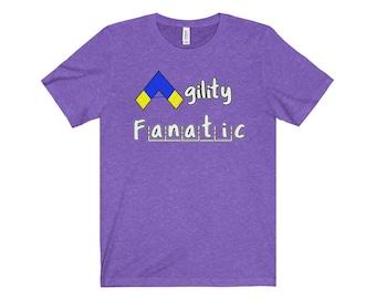 Dog Agility T Shirt  Agility Fanatic
