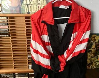 1990s Track Windbreaker Jacket