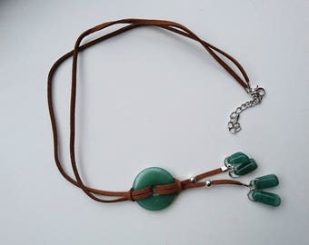 Necklace Aventurine