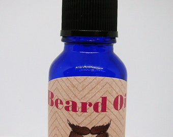 "Men's All Natural ""Beard Oil"" Essential Oils for Aromatherapy / Topical Usage, Holistic Wellness & Health, Skincare, Mood"