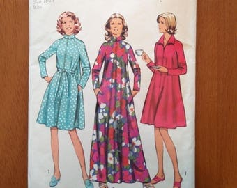 Vintage 1970s sewing pattern: Simplicity 5314 (Size large, 16-18)