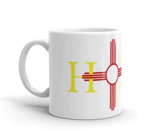 New Mexico is Home Zia Coffee Mug/New Mexico Gifts