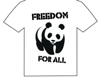 panda . freedom for all