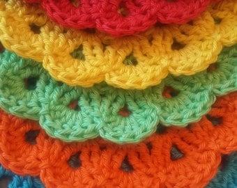Crocheted teapot holder