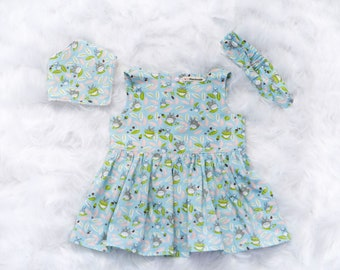 Baby dress Totoo, baby dress, baby girl clothes, birthday dress