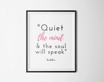 Buddhist, Buddha Quote | Digital Print / Poster