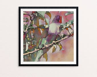 Fine Art Print // Wall Art // Lorikeet // Gift for her // Gift for him // Home Decor