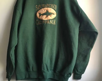 90s San Francisco Sweatshirt - XL