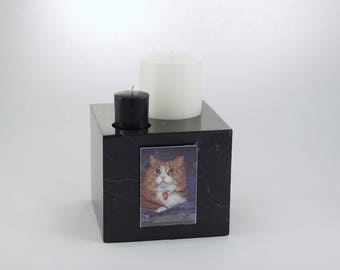 Marble Candle Urn