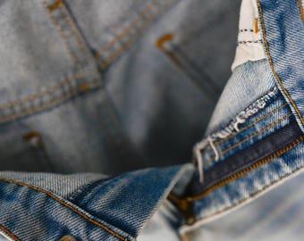 1970's Vintage Levi's Orange Tab Bell-Bottom Jeans