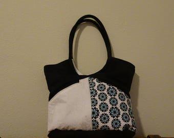 Blue Flower Bella Bag