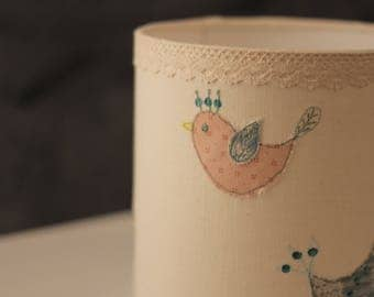 Birds lamp shade.