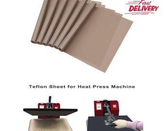 Teflon Sheet For 16 x 20 Heat Press Transfer Sheet Non Stick Reusable Mat 3 Pack