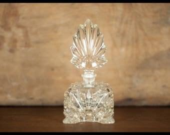 Vintage perfume bottle, perfume bottle, art decor, bathroom, crafted, glass decoration, home decor, gift idea