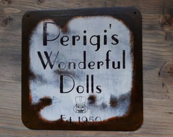 Perigi's Wonderful Dolls - Old Time Radio SciFi inspired wall hanger - (Head Version)