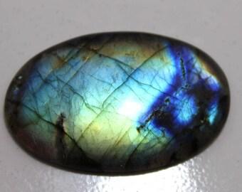 80.30cts Natural Multi flash Labradorite oval  47X31X6 mm Labradorite loose gemstone amazing & beautifull Labradorite nice flash AA-62