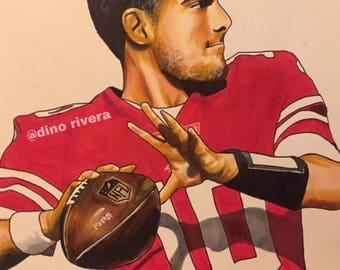 Jimmy Garoppolo 49ers Niners