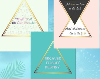 Geometric Inspiration Art Print Bundle