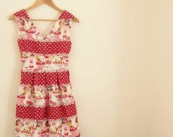 Ice Cream Sundae Swing Dress