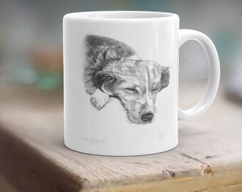 Order a Matching Portrait Coffee Mug with your Custom Portrait