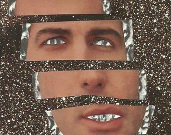 Interstellar Dissociation - Original analog collage