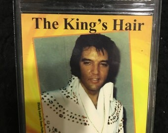 Ultra Rare Elvis Presley Gem 10 Actual Piece Hair Limited Ed 2,525 of 5,000