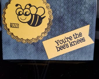 Bee's knees  all occasion card