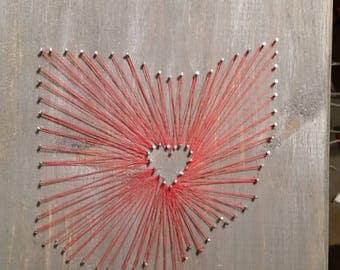 Ohio string art
