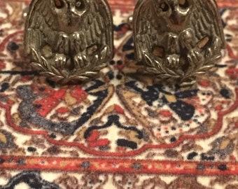Vintage eagle cufflinks