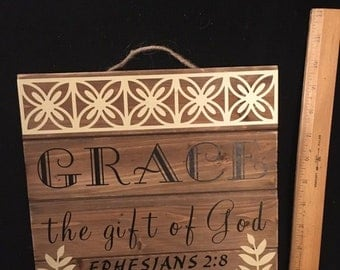 Grace - the gift of God - Ephesians 2:8