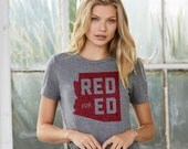 Red for Ed Arizona : UNISEX Crew Neck T-Shirt