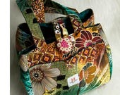 Basket Bag-Tropical Tigris-Reserved for Michelle of mmo6974