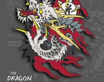 Yakuza Dragon of Dojima [Enamel Pin]