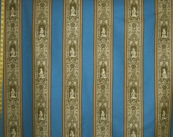 Upholstery fabric BRUNSCHWIG & Fils home interiors drapery Gothic Ladies Winterthur BTY blue fabric