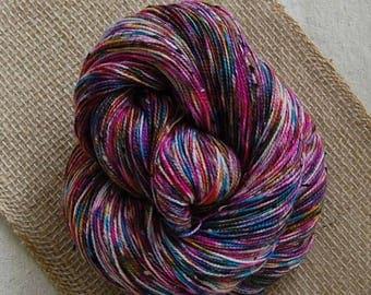 Bits and Bobs Tweed yarn - Graffiti (superwash sock weight) 438 yards 100 grams