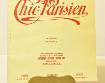 1930s Chic Parisien Fashion Illustration  Fashion Designs  from 1930 Paris  Atelier Bachroitz Fashion Supplement