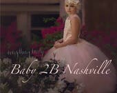 Pink Blush Dress Flower G...