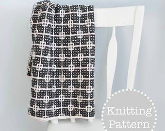 Knitting Pattern - Pandorica Blanket