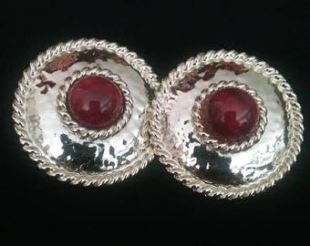 Earrings, Vintage Earrings, Pierced Earrings, 80's Earrings