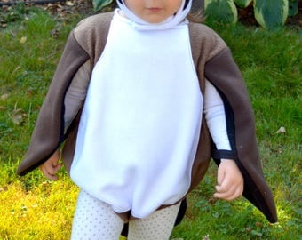 PRE-ORDER Canadian goose halloween costume sizes NB through 5T, extended sizes available as custom order