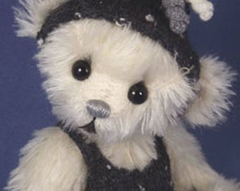 AUBREY - One of A Kind ArtistBear,  Collectable Mohair Artist Bear, by Valewood Bears, Artist Bear, Teddy Bear