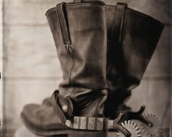 Still Life - Cowboy Boots