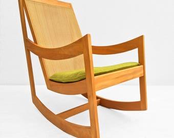 Mid Century Modern Rocking Chair Ralph Rapson Style