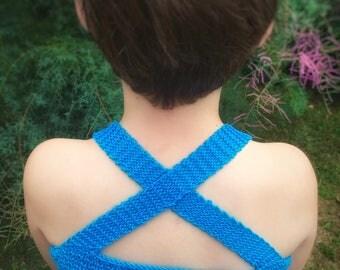 Cotton Camisole Knitting Pattern PDF
