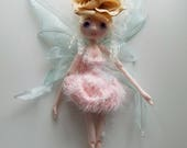 BUTTERFLY The Original Soft Sculpture Doll by Kaerie Faerie handmade in the USA