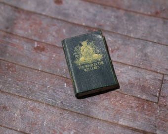 Miniature Book --- The Wind in the Willows