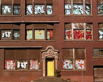 Office Facade, Buffalo, NY